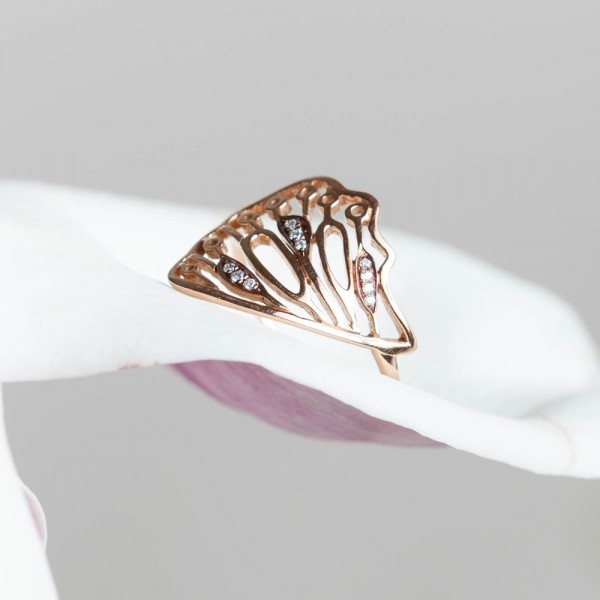 Butterfly small ring