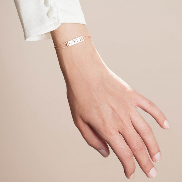 Love is blind rose gold bracelet