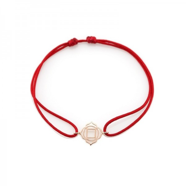 Muladhara /Roots Bracelet on thread