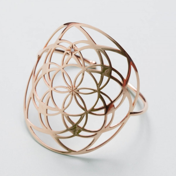 Manchette Flower of Life