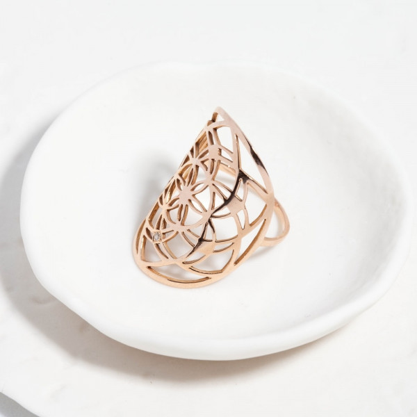 Flower of Life ring