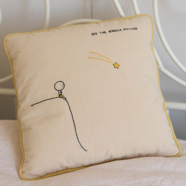 See the Bigger Picture Cushion