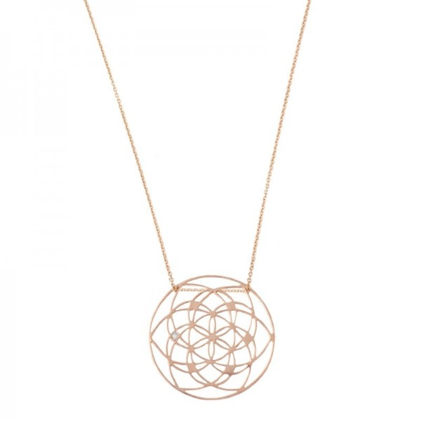 Collana Flower of life