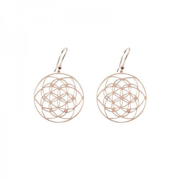 Orecchini Flower of life