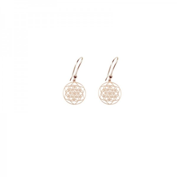 Orecchini Flower of life Tiny