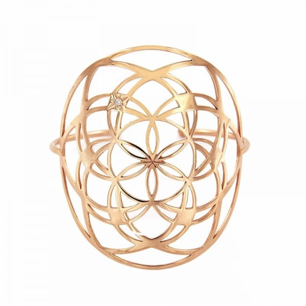 Brazalete Flower of life