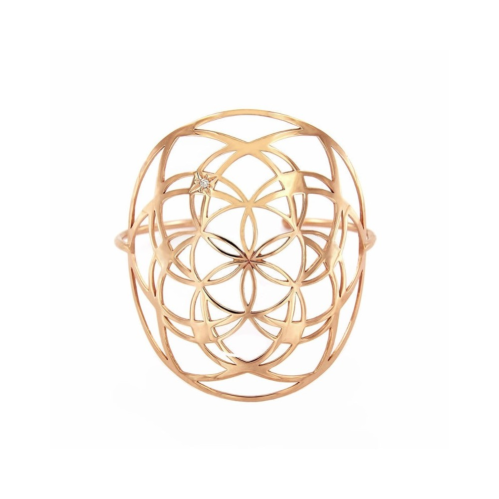 Flower of life cuff