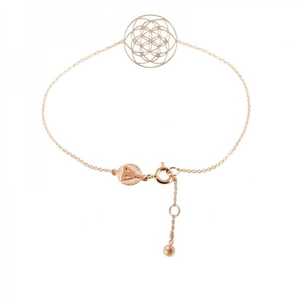 Pulsera Flower of life