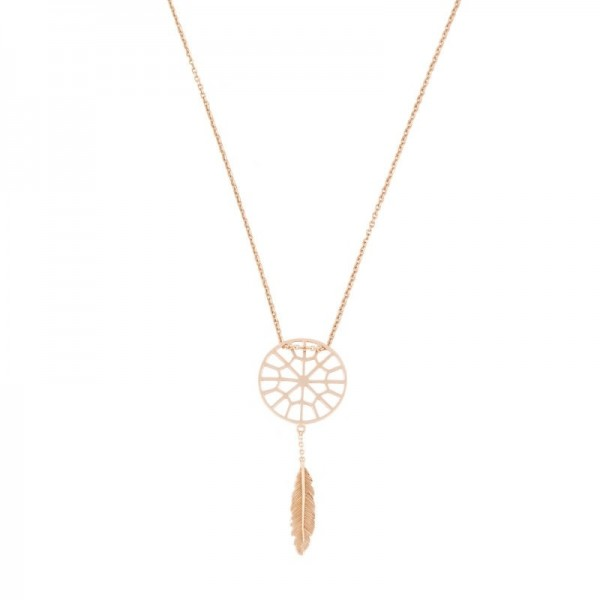Collar Tiny sweet web dreamcatcher