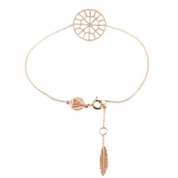 Sweet web dreamcatcher bracelet